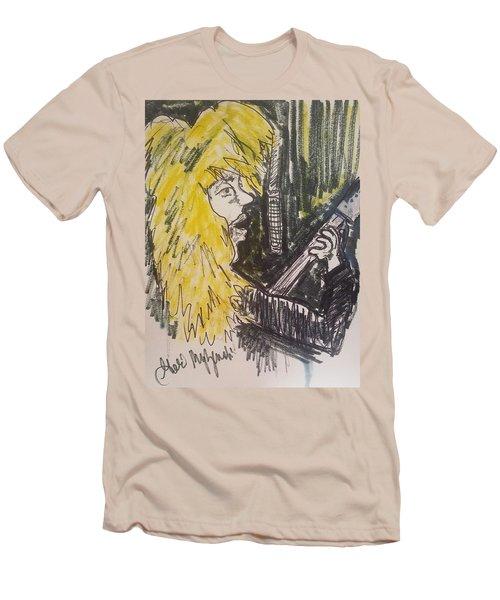 Def Leppard Love Bites Men's T-Shirt (Slim Fit) by Geraldine Myszenski