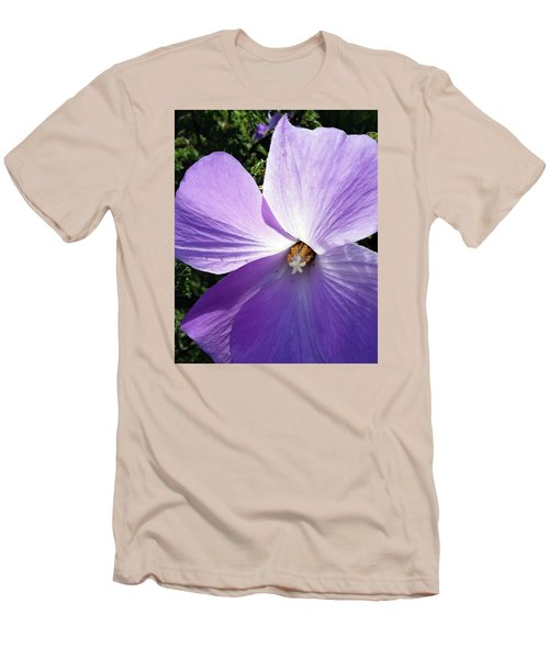 Delicate Flower Men's T-Shirt (Athletic Fit)