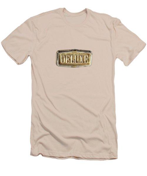 Deluxe Chrome Emblem Men's T-Shirt (Slim Fit)