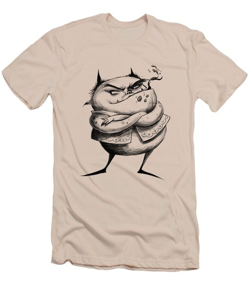 Demon Men's T-Shirt (Slim Fit) by Andy Catling