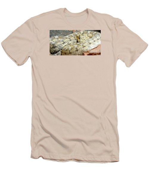 Desert Horned Viper Men's T-Shirt (Slim Fit) by KD Johnson