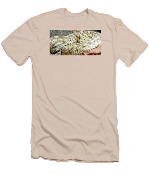 Desert Horned Viper Men's T-Shirt (Athletic Fit)