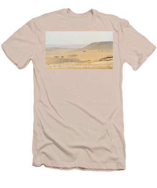 Men's T-Shirt (Athletic Fit) featuring the photograph Desert by Silvia Bruno