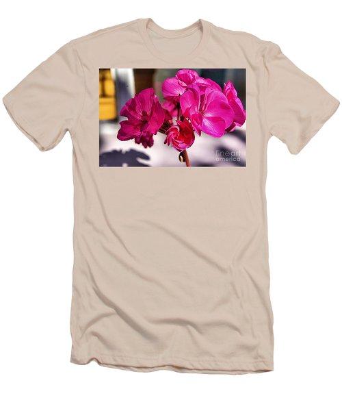 Details In Pink  Men's T-Shirt (Athletic Fit)