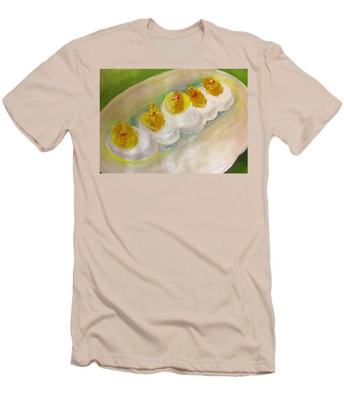 Devilled Eggs Men's T-Shirt (Athletic Fit)