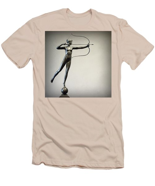 Diana Of The Tower Men's T-Shirt (Slim Fit) by Joseph Skompski