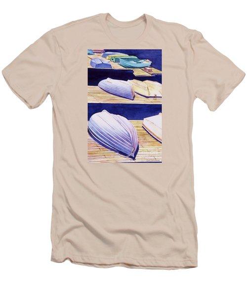 Dinghy Lines Men's T-Shirt (Athletic Fit)