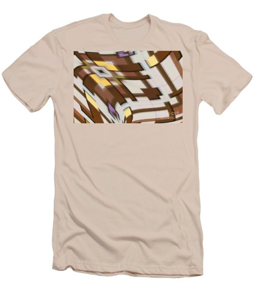 Men's T-Shirt (Athletic Fit) featuring the digital art Distortion by Wendy Wilton