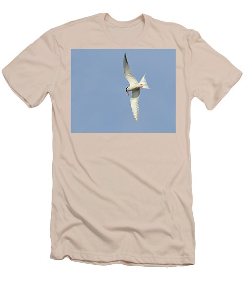 Men's T-Shirt (Slim Fit) featuring the photograph Dive by Tony Beck
