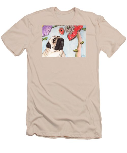 Dog Treat Men's T-Shirt (Athletic Fit)