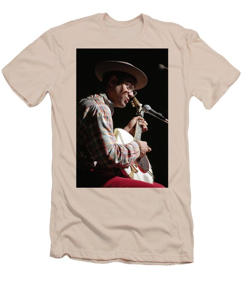 Dom Flemons Men's T-Shirt (Slim Fit) by Jim Mathis