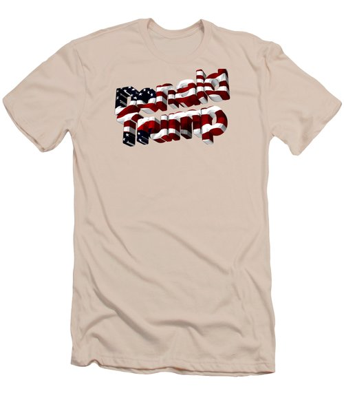 Donald Trump Men's T-Shirt (Athletic Fit)