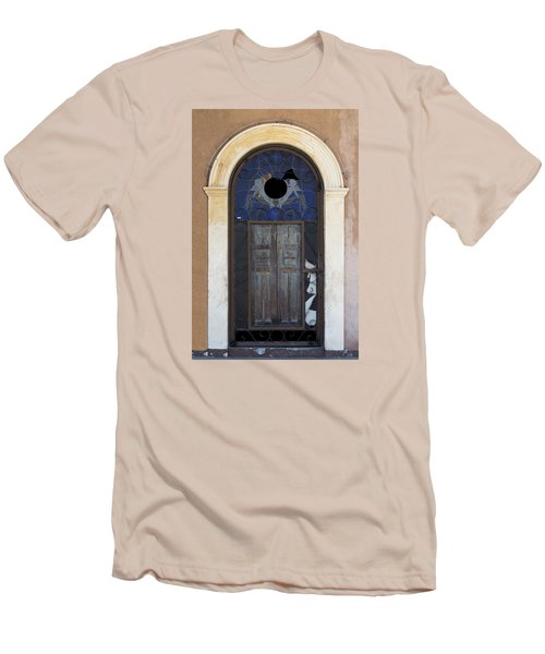 Door With A Hole Men's T-Shirt (Athletic Fit)