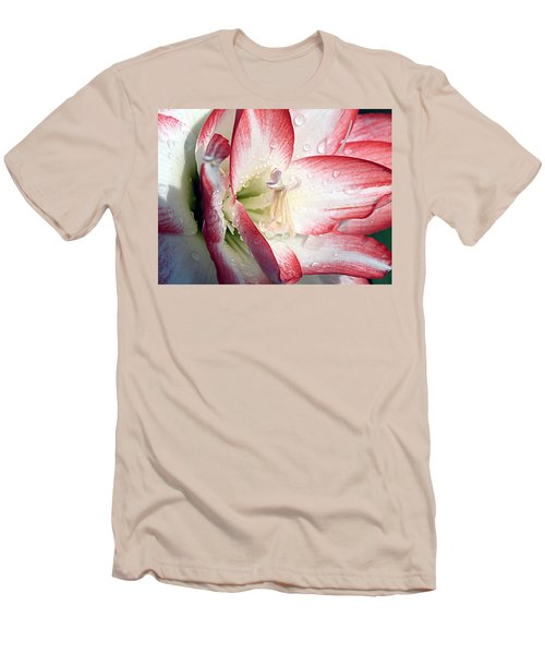 Double Amaryllis Men's T-Shirt (Athletic Fit)