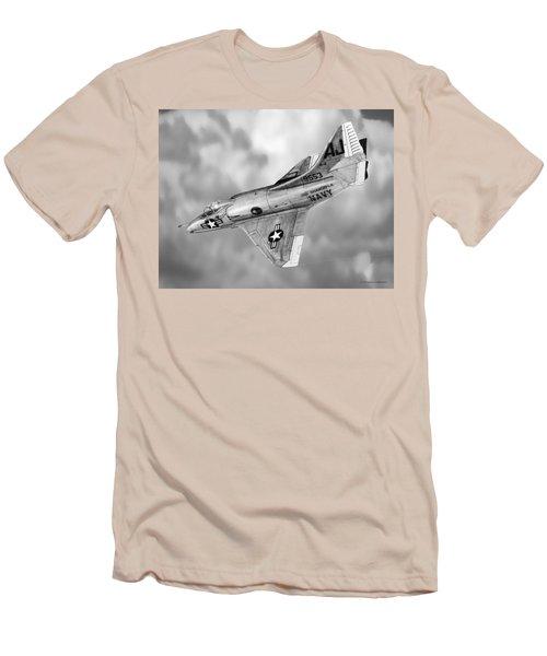 Douglas A-4c Skyhawk Men's T-Shirt (Slim Fit) by Douglas Castleman