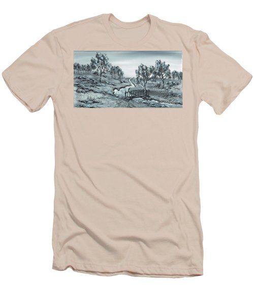 Down Stream Men's T-Shirt (Athletic Fit)