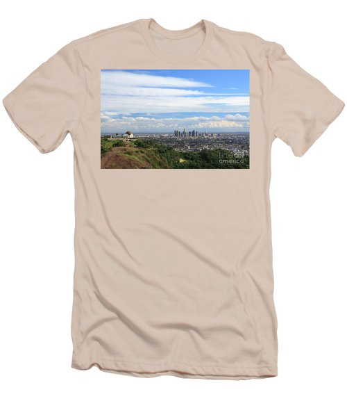 Downtown Los Angeles Men's T-Shirt (Athletic Fit)