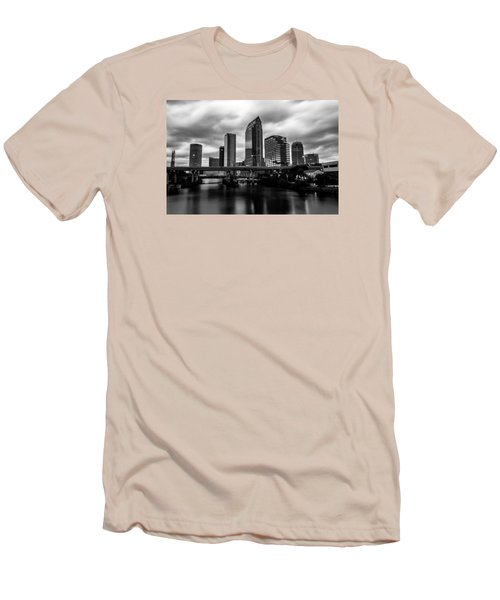 Downtown Tampa Men's T-Shirt (Athletic Fit)