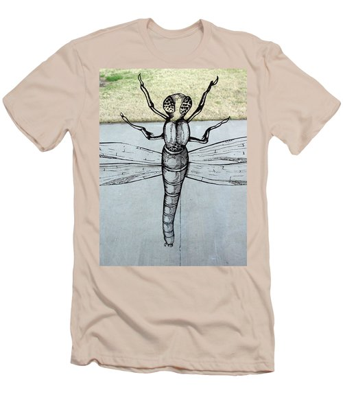 Dragons Fly Men's T-Shirt (Athletic Fit)