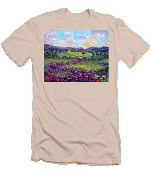 Dream In Color Men's T-Shirt (Slim Fit) by Jennifer Beaudet