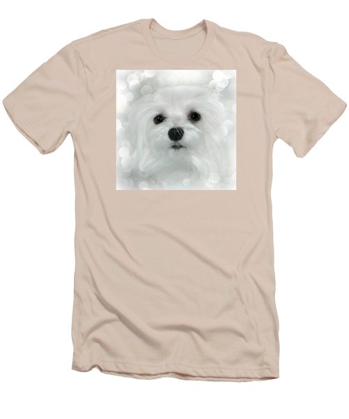 Men's T-Shirt (Slim Fit) featuring the photograph Dreams In White by Morag Bates
