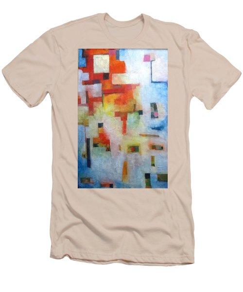 Dreamscape Clouds Men's T-Shirt (Athletic Fit)