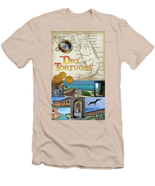 Dry Tortugas Men's T-Shirt (Athletic Fit)