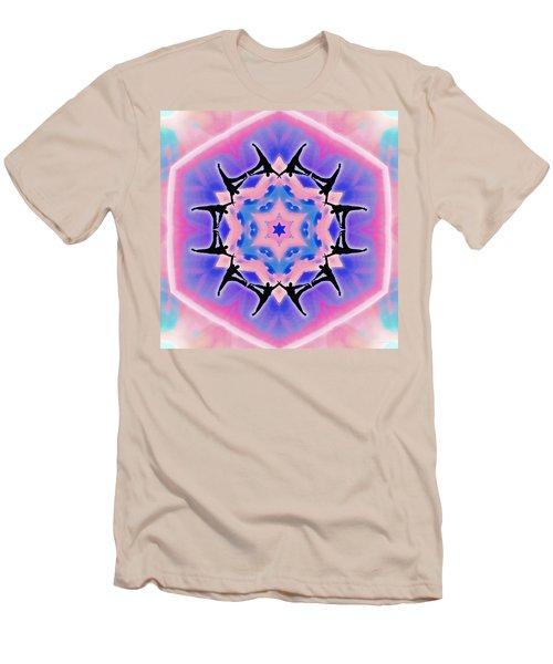 Men's T-Shirt (Athletic Fit) featuring the digital art Dublife by Derek Gedney