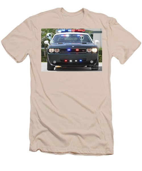 E T Cops Men's T-Shirt (Athletic Fit)