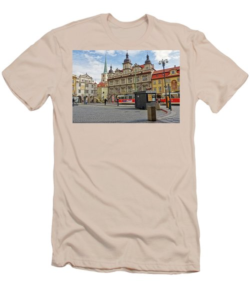 Early Morning In Prague Men's T-Shirt (Athletic Fit)