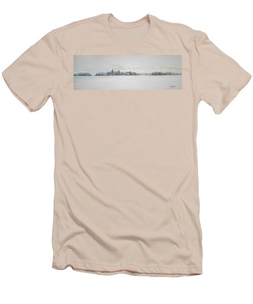 Early Skyline Men's T-Shirt (Slim Fit)