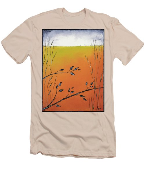Early Spring  Men's T-Shirt (Slim Fit) by Carolyn Doe