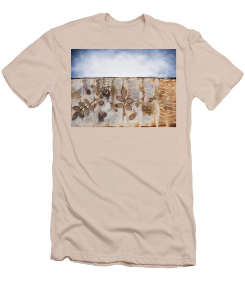 Earth And Sky II Men's T-Shirt (Slim Fit) by Carolyn Doe