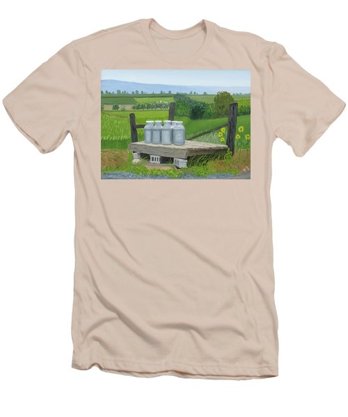 East Back Mountain Road Men's T-Shirt (Athletic Fit)