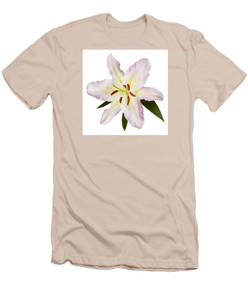 Easter Lilly 1 Men's T-Shirt (Slim Fit) by Tony Cordoza