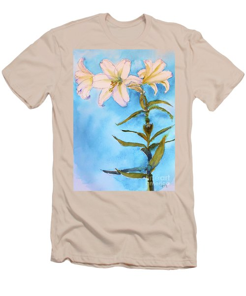 Easter Lily Men's T-Shirt (Athletic Fit)