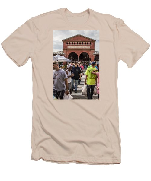Eastern Market Summer Detroit  Men's T-Shirt (Athletic Fit)