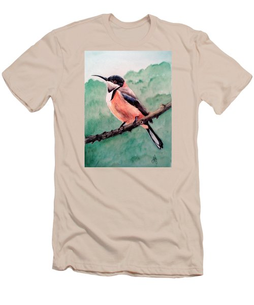 Eastern Spinebill Men's T-Shirt (Athletic Fit)