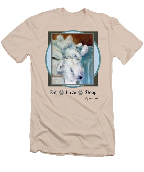 Eat Love Sleep Men's T-Shirt (Athletic Fit)