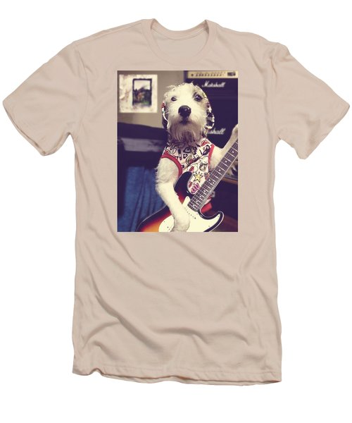 Eddie Plays Guitar Men's T-Shirt (Athletic Fit)