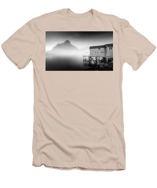 Egulfed By Mist Men's T-Shirt (Slim Fit) by Alex Conu