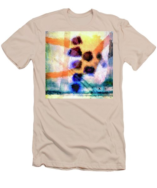 Men's T-Shirt (Slim Fit) featuring the painting El Paso Del Tiempo by Dominic Piperata