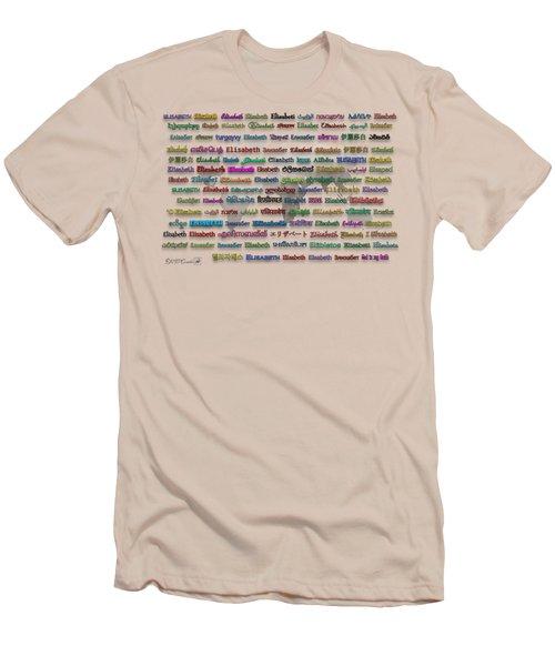 Elisabeth Men's T-Shirt (Athletic Fit)