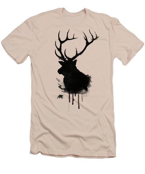 Elk Men's T-Shirt (Slim Fit) by Nicklas Gustafsson