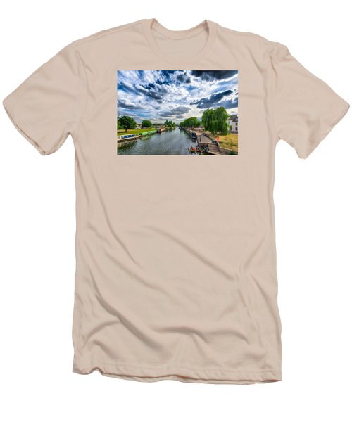 Ely Riverside Men's T-Shirt (Athletic Fit)