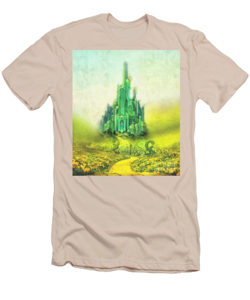 Emerald City Men's T-Shirt (Slim Fit) by Mo T