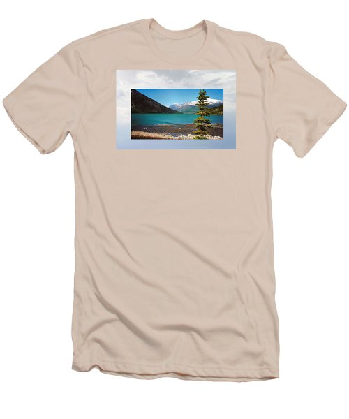 Emerald Lake Chilkoot Trail Alaska Men's T-Shirt (Athletic Fit)