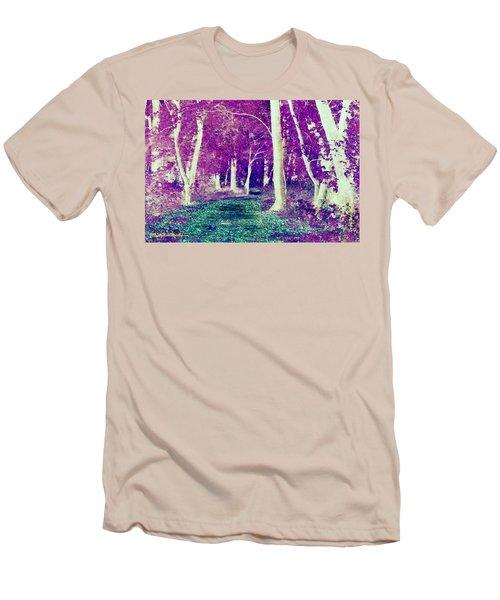 Emerald Path Men's T-Shirt (Athletic Fit)