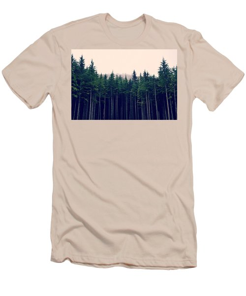 Men's T-Shirt (Slim Fit) featuring the photograph Emerson  by Robin Dickinson