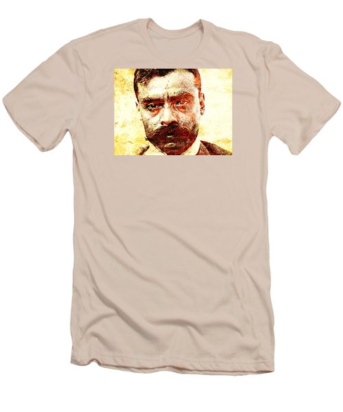 Emiliano Zapata Men's T-Shirt (Slim Fit) by J- J- Espinoza